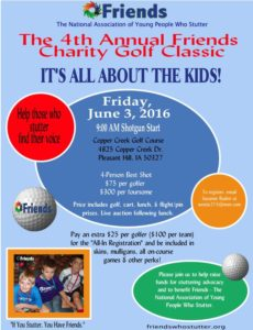 Friends 2016 1 page golf flier